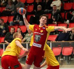 Hannes Nyström visade ingen pardon och slungade in åtta mäktiga skott.