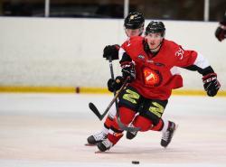 Centerforwarden Zeke Back från Tyringe, är en av de nyförvärv som Mats Börjel hoppas stannar i THH.