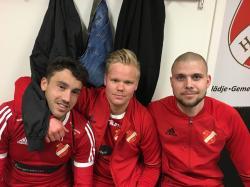 Nico Cordero, Jonathan Avernäs och Joakim Kupari såg till att HSK startade med en seger.
