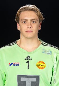 Douglas Otterström, säker målvakt i TH.