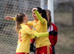Tyresös fronlinje, Frida Thörnqvist och Maria Poli, gjorde tre mål mot Södersnäckorna.