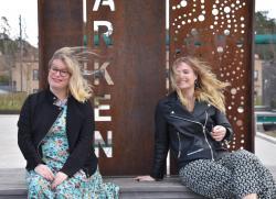 Tyresöförfattarna Hlena Dahlgren och Anna Bågstam har verkligen vinden i ryggen, med kommande utlandslanseringar och internationella bokmässor.