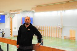 David Garcia, eldsjäl bakom projektet Drive in-fotboll
